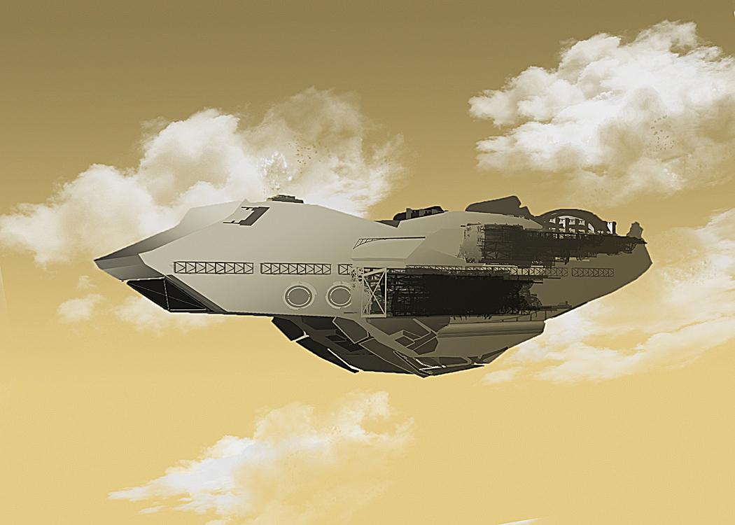 Space ship concept