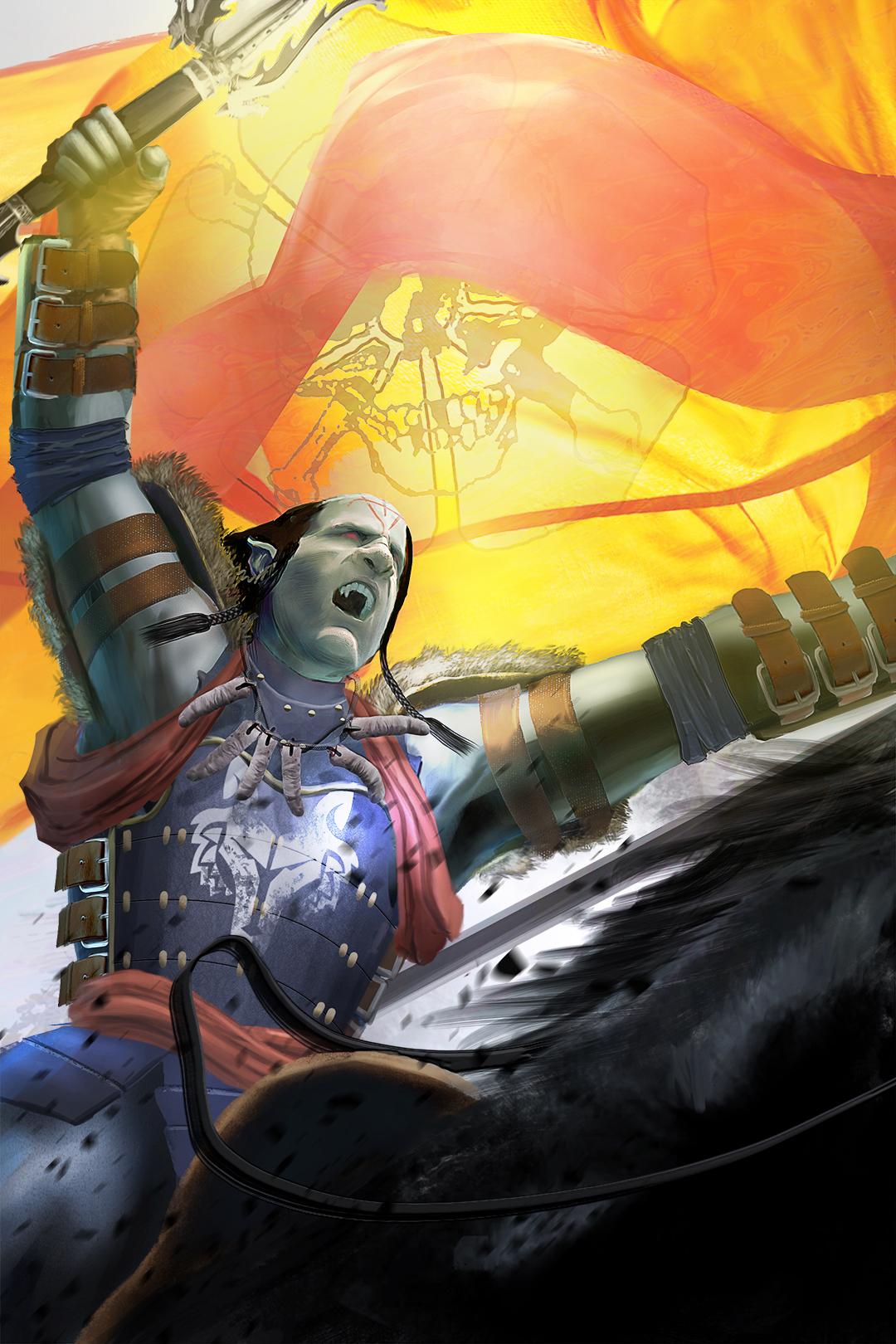 Battle Orc - by Ké Sneller