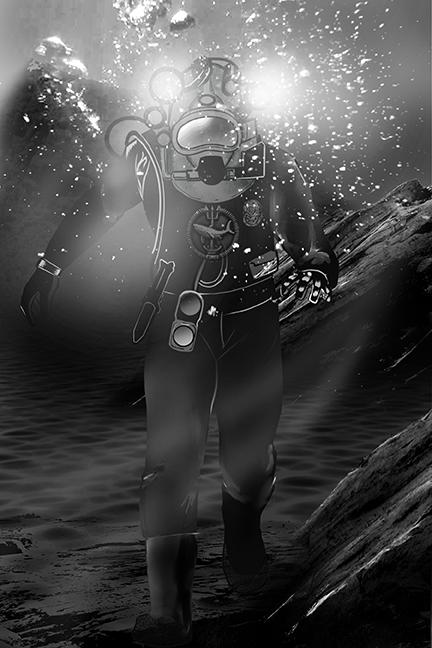 Diver concept piece