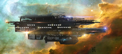 space freighter