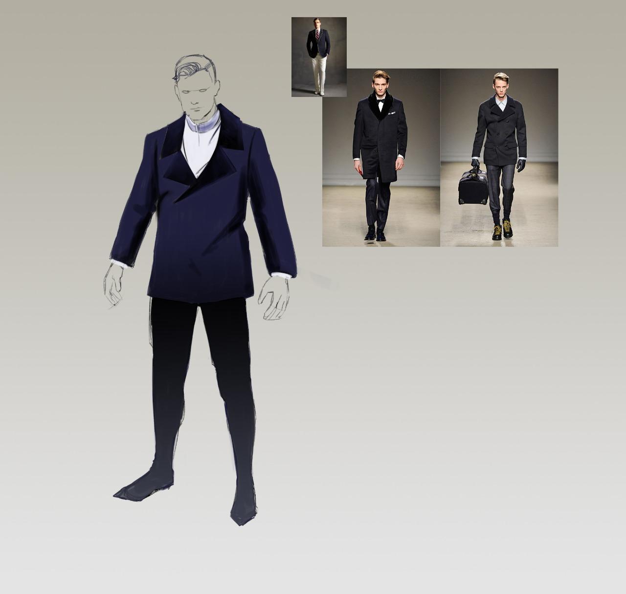 male costume concept