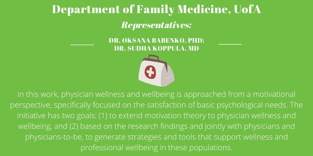Department of Family Medicine, University of Alberta
