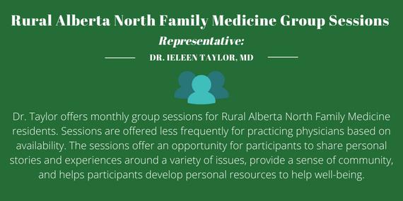 Rural Alberta North Family Medicine Group Sessions