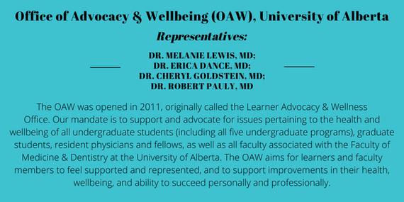 Office of Advocacy & Wellbeing (OAW), University of Alberta