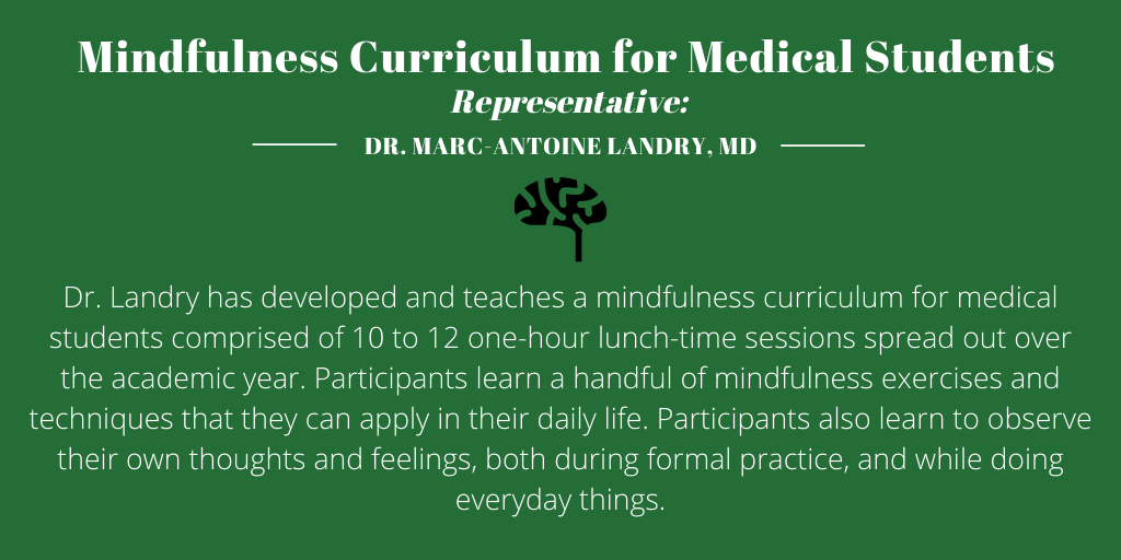6.Mindfulness Curriculum for Medical Students