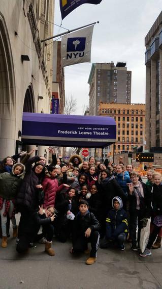 7th Grade Dance Majors at NYU