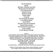 Lullaby Liner Notes