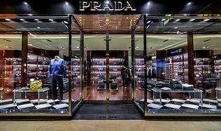 Prada Seattle Bravern store entrance