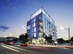 Origami Lofts exterior design by Teeple Architects - toronto, ontario, canada