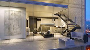 Origami Lofts condominium design - toronto, ontario