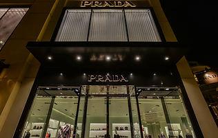 Prada Seattle Bravern storefront facade