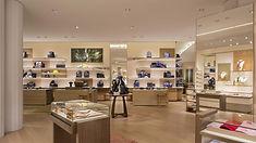 Louis Vuitton West Edmonton Mall Mens luxury retail