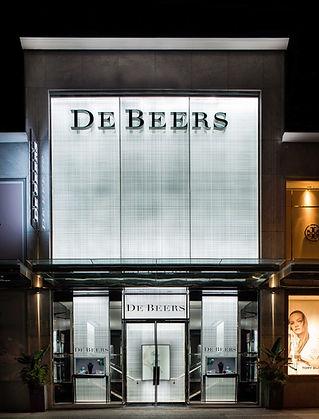 De Beers Vancouver Flagship Facade