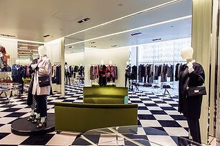 Prada Holt Renfrew Montreal luxury retail store