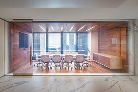 InstarAGF walnut boardroom