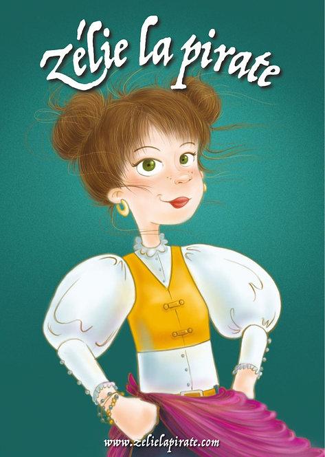 Affiche Zélie-Portrait