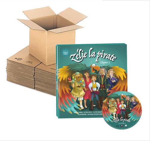 Carton 10 exemplaires de ZELIE LA PIRATE