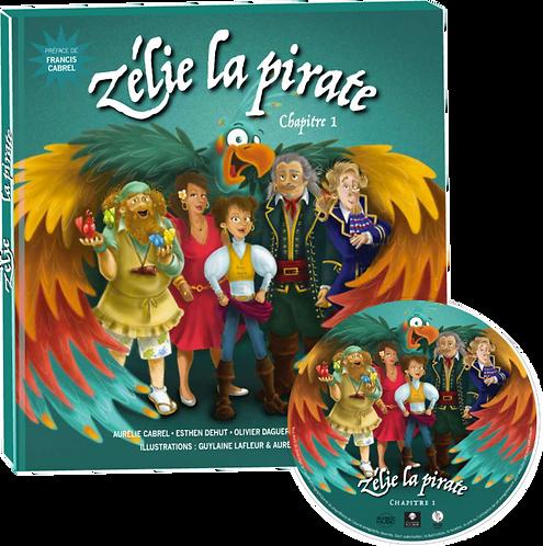 livre CD zelie la pirate