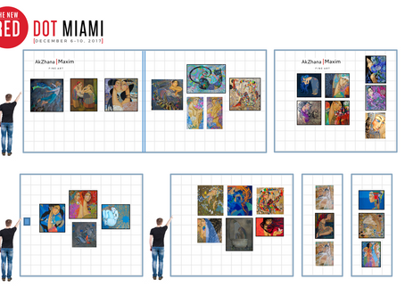 4 tickets for Red Dot Miami, for our collectors and sponsors