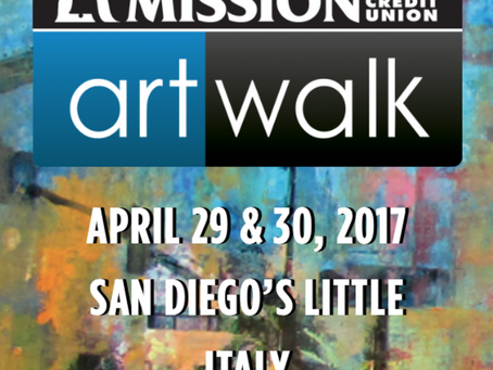 Participation in the Art Show in San Diego