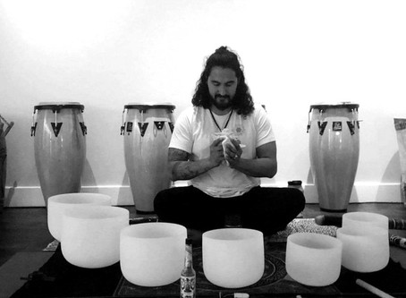 Only 3 spots left for October 23rd Sound Bath with Hamilton Garces!