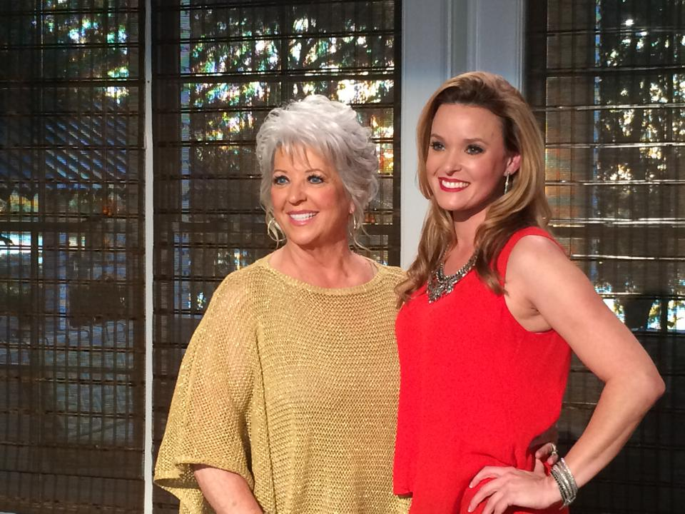 Meghan and Paula Deen