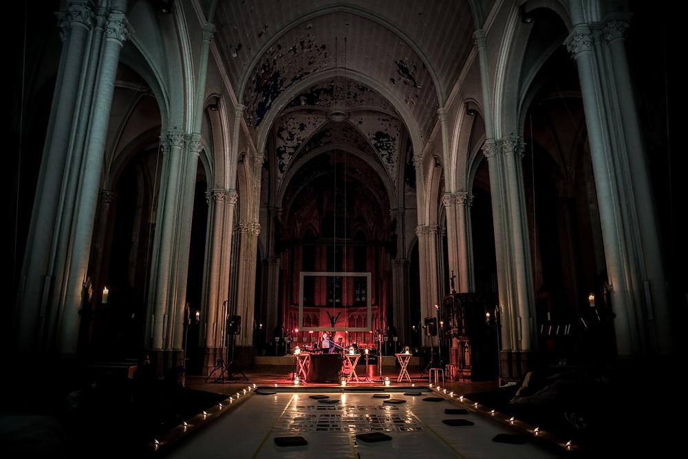 Soundscape concert Fleepp in de Magdalenakerk Brugge (c) Silvie Bonne