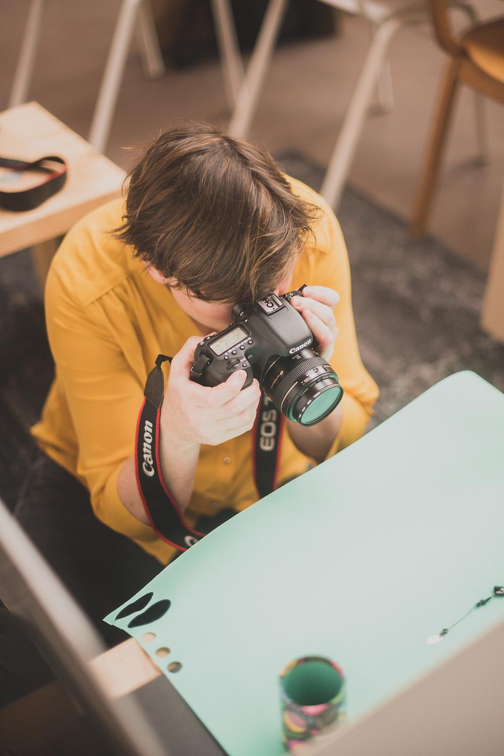 workshop 'Styling & Fotografie' (c) Silvie Bonne