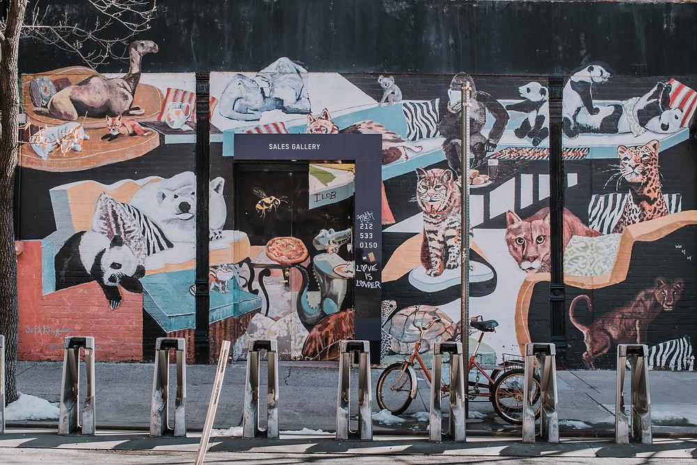 Lower East Side Street Art (c) Silvie Bonne