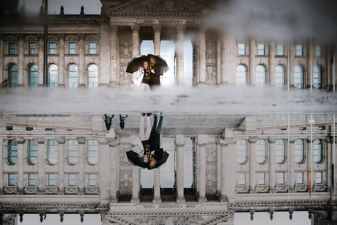 Moeder en zoon - Berlin trip