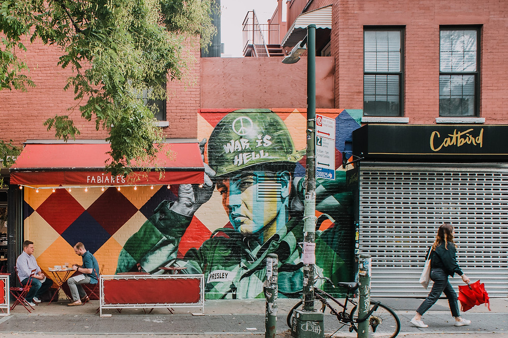 Williamsburg Street Art - Kobra (c) Silvie Bonne