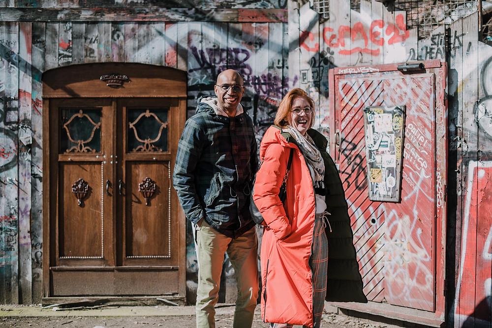 Photo Shoot Walk Friedrichshain (c) Silvie Bonne