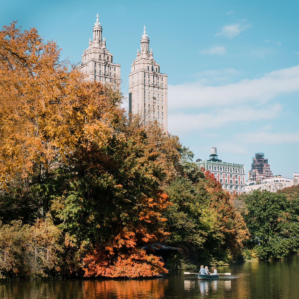 Herfst in Central Park (c) Silvie Bonne