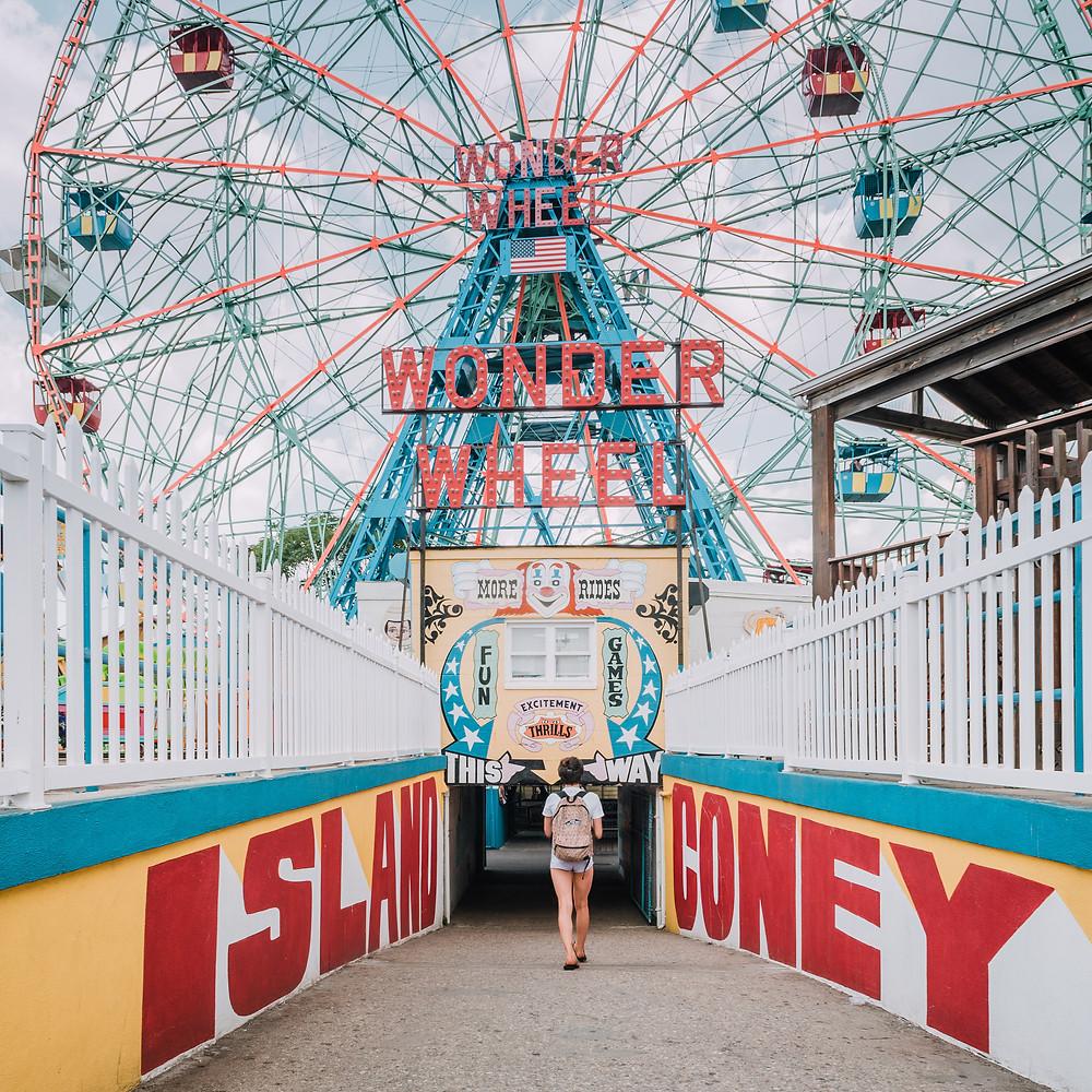 NYC with Teens - Coney Island  (c) Silvie Bonne