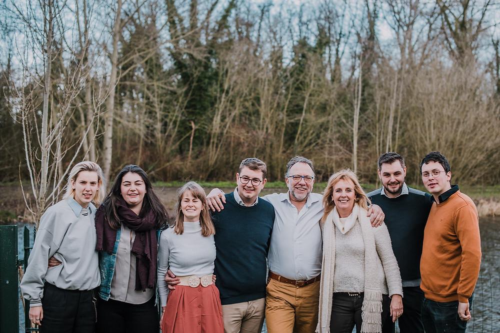 Familiereportage aan de Leie (c) Silvie Bonne