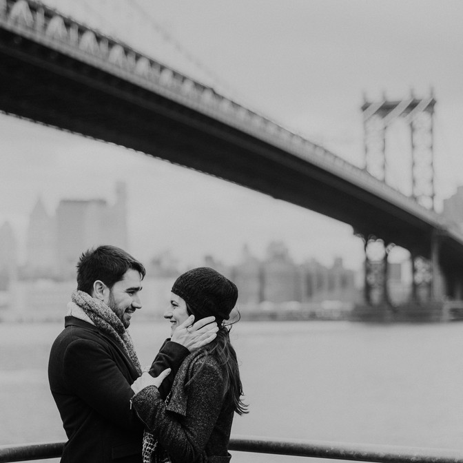 Engagement shoot in NYC