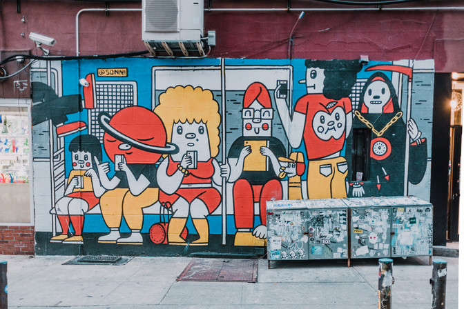 Street Art in The Lower East Side