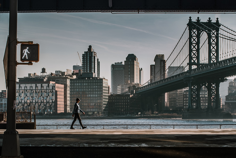 Two Bridges NYC (c) Silvie Bonne