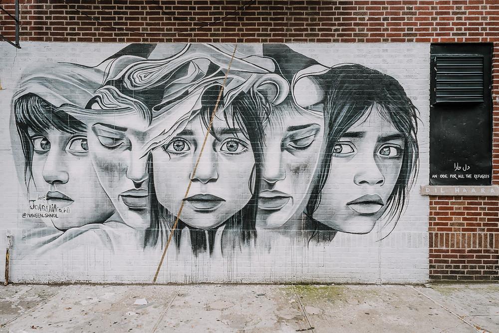 Williamsburg Street Art - Naveen Shakil (c) Silvie Bonne