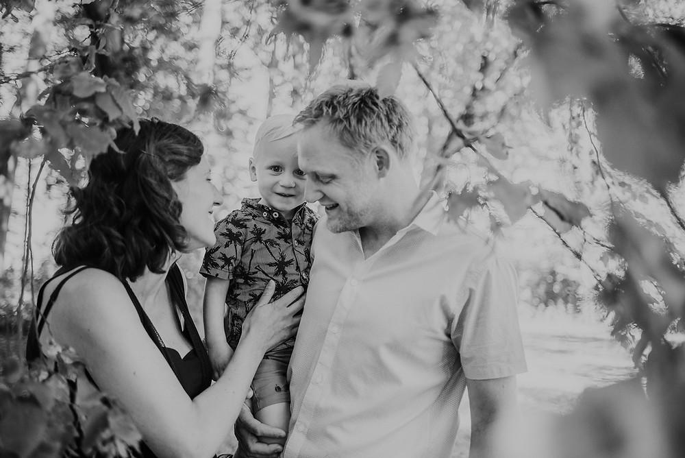 Familiereportage in het bos (c) Silvie Bonne
