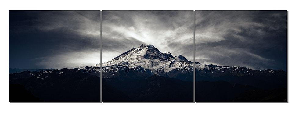 """Mt. Baker 20""""X60""""  Canvas Standout triptych"""