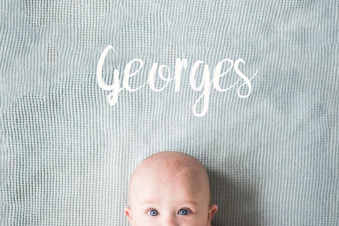 Hi! Baby George!