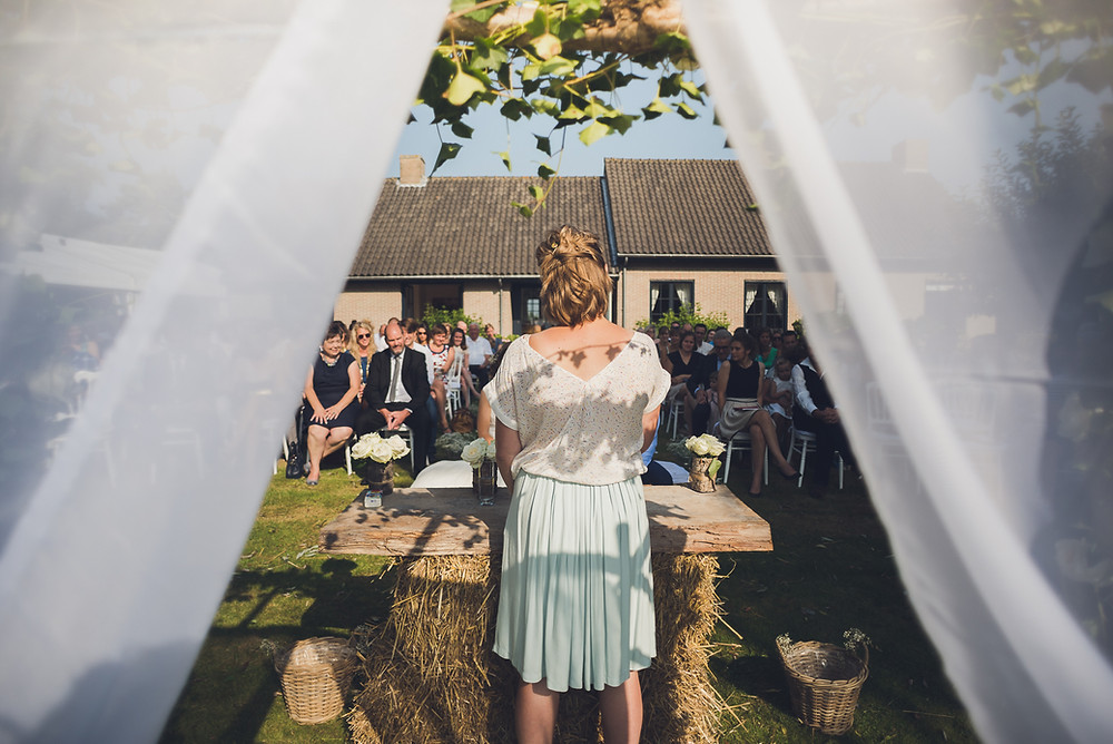 Tuinfeest trouwerij (c) Silvie Bonne