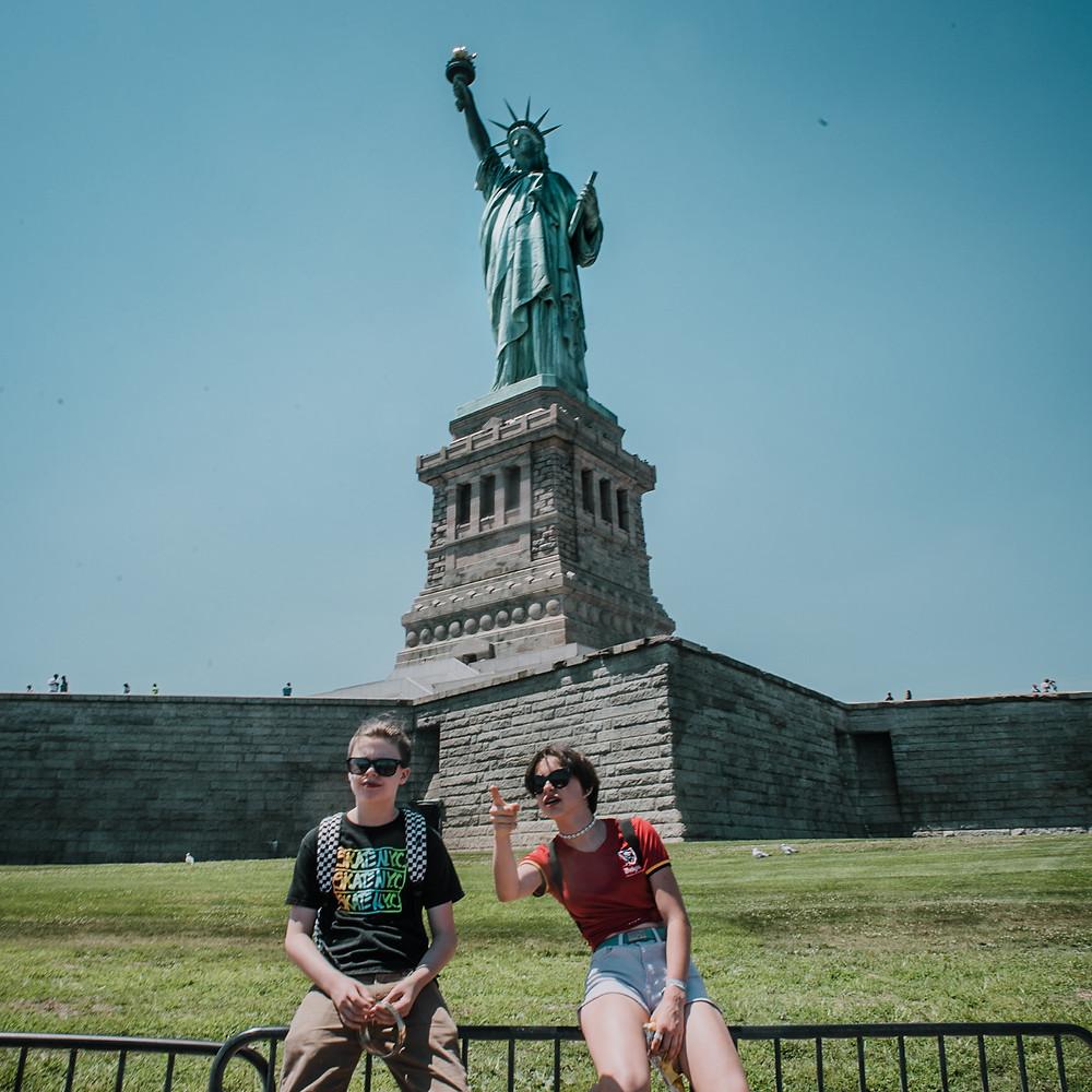 NYC with Teens - Liberty Island (c) Silvie Bonne