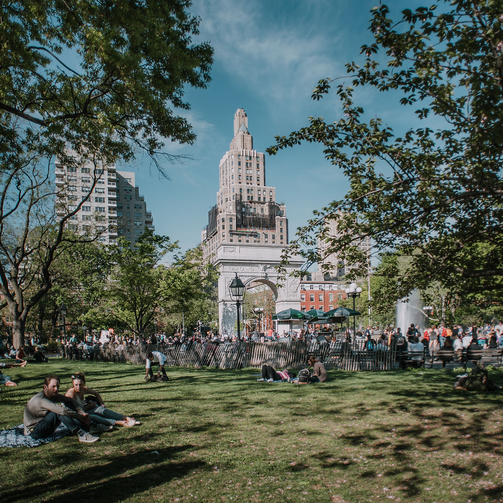 Washington Square Park (c) Silvie Bonne