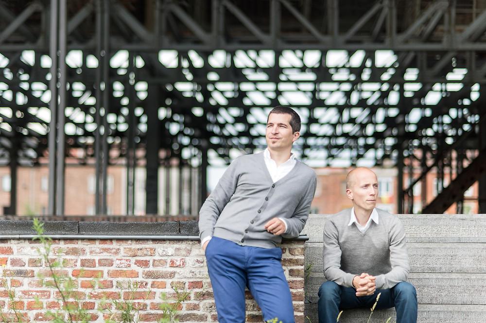 Duo Portret De Moor & Muller (c) Silvie Bonne