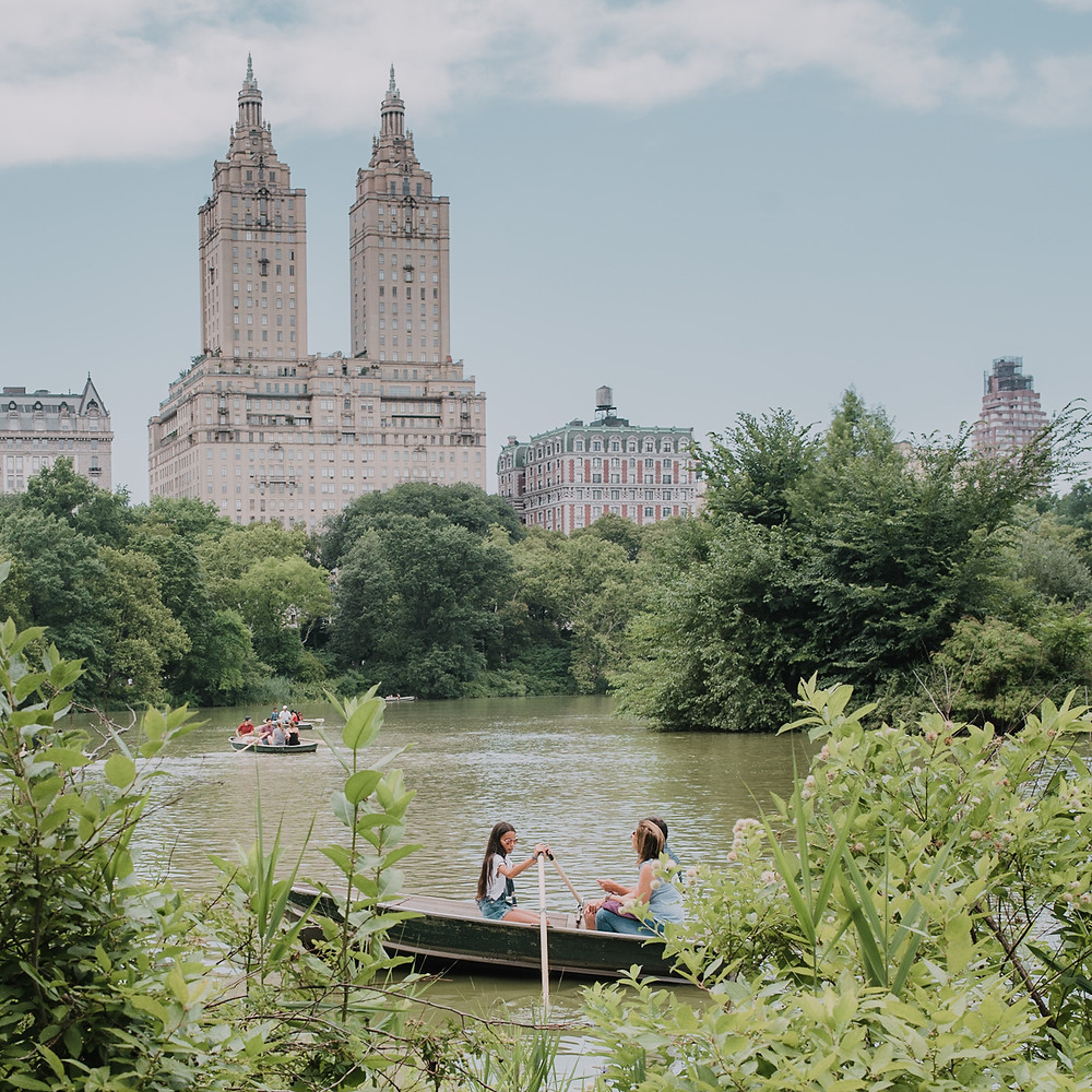 NYC with Teens - Loeb Boathouse (c) Silvie Bonne