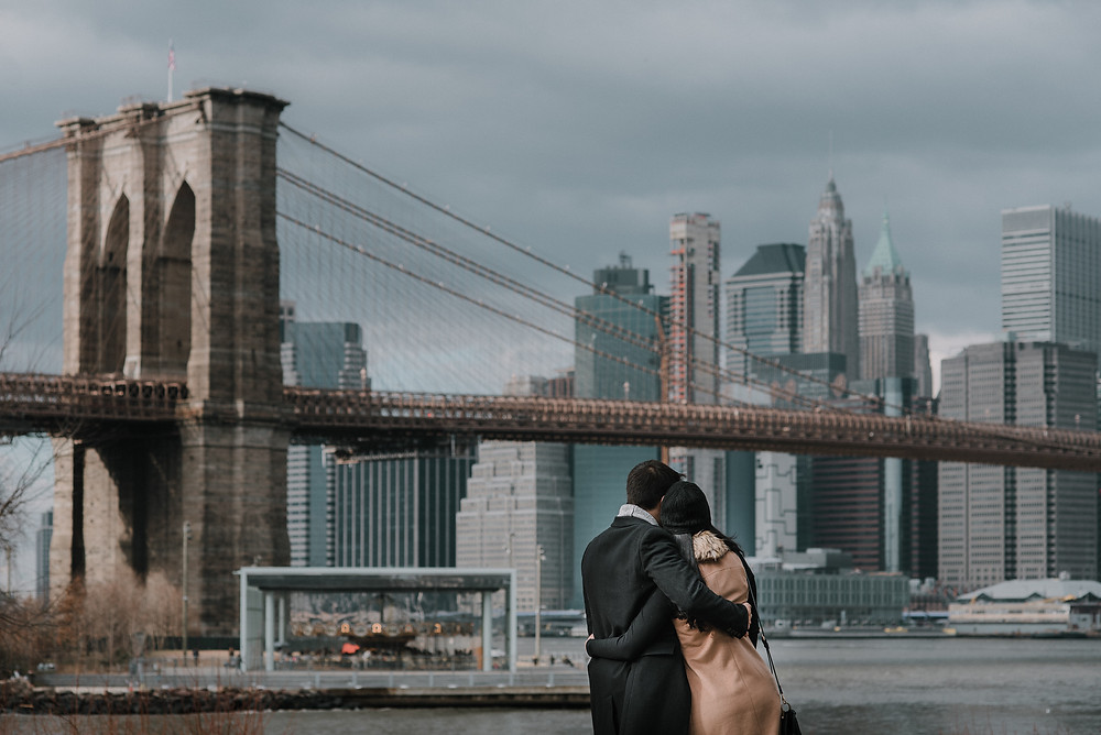 Engagement Shoot in NYC (c) Silvie Bonne
