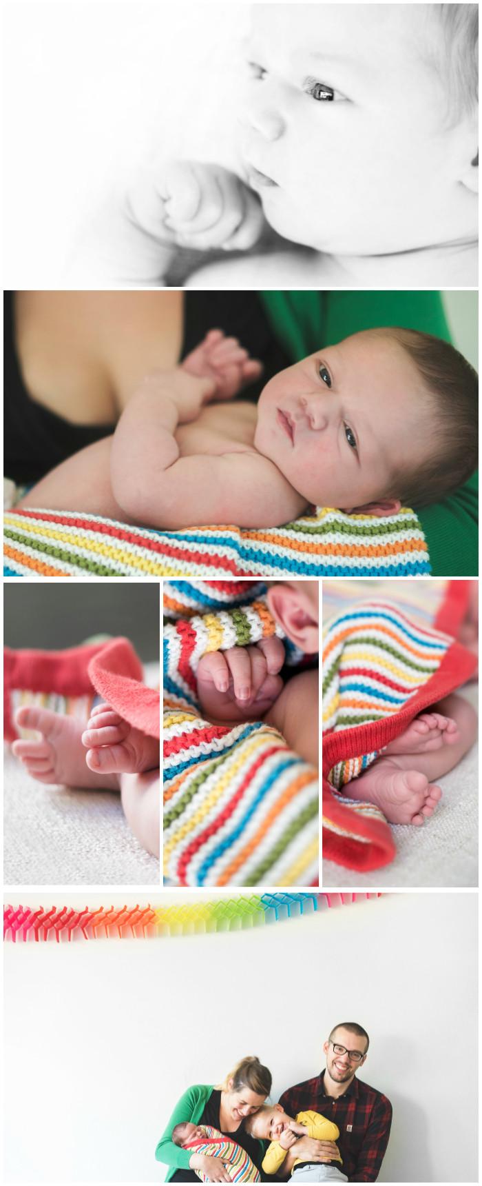 Newbornfotografie in Gent (c) Silvie Bonne