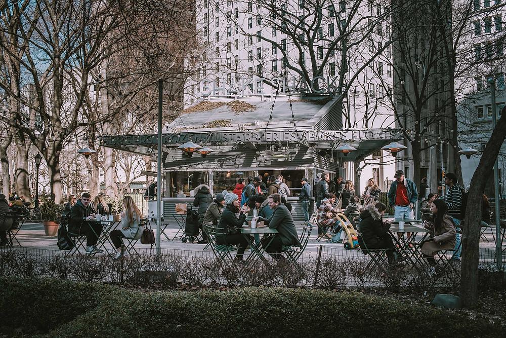Shake Shack Madison Square Park (c) Silvie Bonne